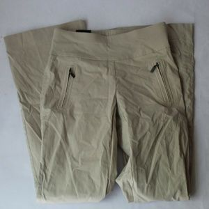 INC Curvy Fit Bootcut Pants Beige Women's (2) NEW